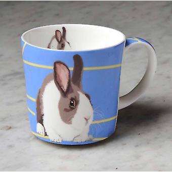 Leslie Gerry Bone China Mug, Rabbit