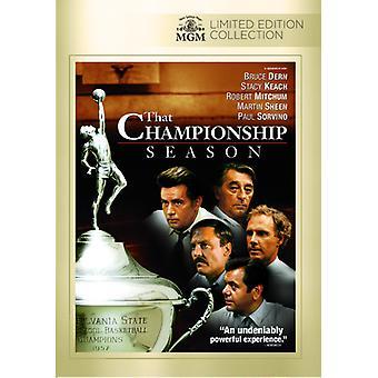 Die import USA Championship seizoen [DVD]
