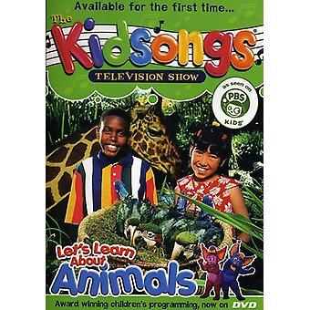 Kidsongs - Lad os lære om dyr [DVD] USA import