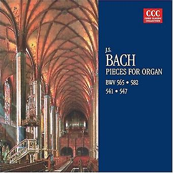 J.S. Bach - Bach: Stukken voor orgel, Bwv 565, 582, 541, 547 [CD] USA importeren