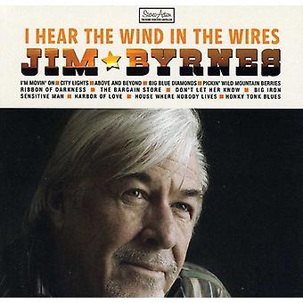 Jim Byrnes - jeg høre vinden i ledninger [CD] USA importen