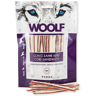 Woolf Long Lamb and Cod Sandwich (Dogs , Treats , Natural Treats)