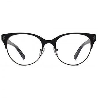 Hook LDN Pagoda Stainless Steel Cateye Glasses In Black