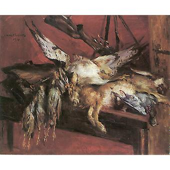 Lovis Corinth - Poached Animals Poster Print Giclee