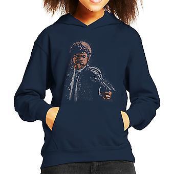 Massa Fiction sökvägen till rättfärdig Man Kid's Hooded Sweatshirt