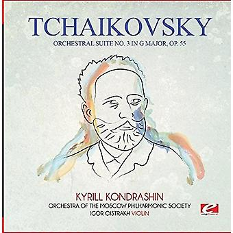Tchaikovsky - Orchestral Suite No. 3 in G Major Op. 55 [CD] USA import