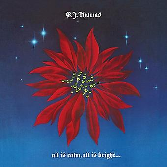 Bj Thomas - All Is Calm All Is Bright & Love Shines [CD] USA import