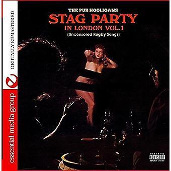 Pub USA 1 piosenki bez cenzury Rugby [CD] Hooligans - Stag Party w Londynie - import