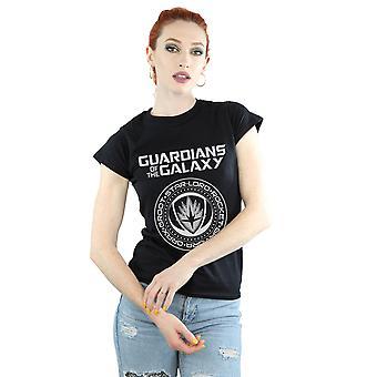 Marvel vrouwen hoeders van de Galaxy-Logo zegel T-Shirt