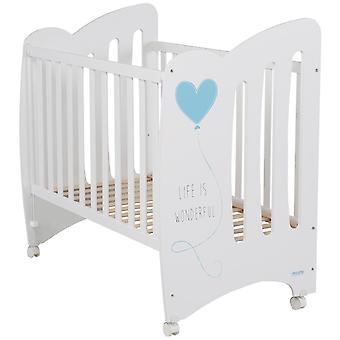 Micuna Cradle 120x60 Wonderful White / Blue