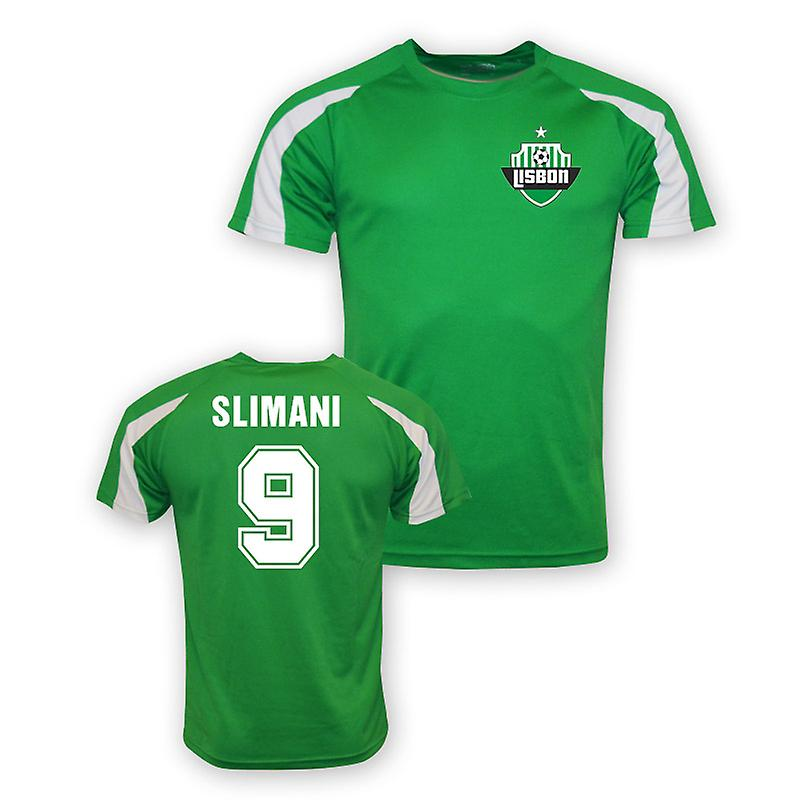 Islam Slimani Sporting Lisbon Sports Training Jersey (green)