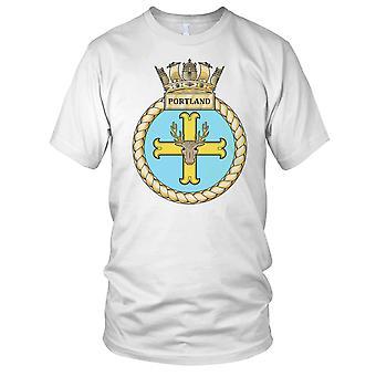 Royal Navy HMS Portland Ladies T Shirt