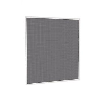 Flying grid insect protection telescopic window Kit 120 x 140 cm in anthracite