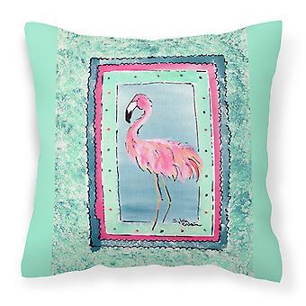 Carolines Treasures  8107-BPW1414 Bird - Flamingo Decorative   Canvas Fabric Pil