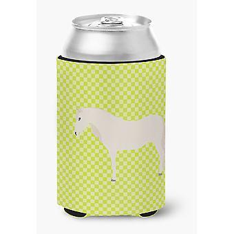 Carolines schatten BB7731CC Paso Fino paard groen kan of fles Hugger