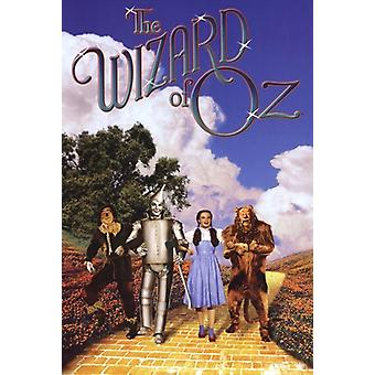 Wizard of Oz - Foursome Poster Poster Print