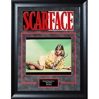 Scarface - Signed by Michelle Pfeiffer - Framed Artist Series