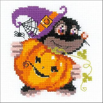 Happy Halloween Counted Cross Stitch Kit-6