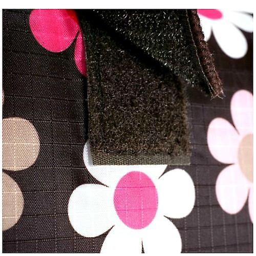 Baby Changing Mat Brown Flower