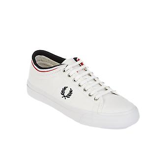 Fred Perry men's FPB5210U14100 white fabric of sneakers