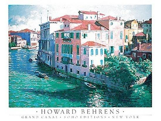 Grand Canal Poster Print by Howard Behrens (24 x 18)