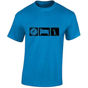 Eten slapen Golf Mens T-Shirt 10 kleuren (S-3XL) door swagwear