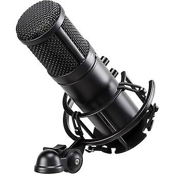 USB studio microphone Renkforce ST-60 USB incl. shock mount, incl. cable