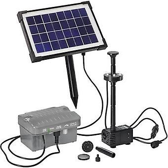 Solar pump set incl. lighting, incl. battery 330 l/h Esotec Palermo LED 101775