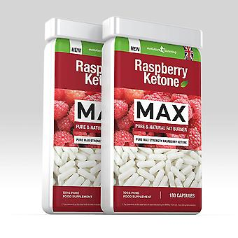 Raspberry Ketone 100mg - 360 Capsules - Value Raspberry Ketone - Evolution Slimming