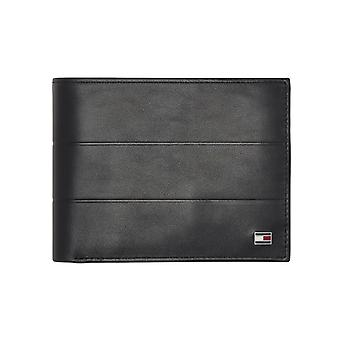 Tommy Hilfiger – Corporate – Flap and Coin wallet – Black