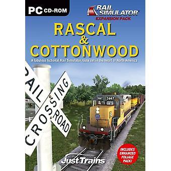 Rascal Cottonwood Add-On voor Rail Simulator (PC CD)