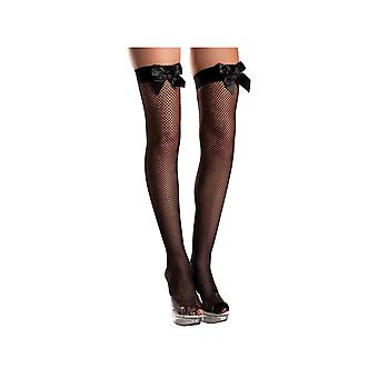 Be Wicked BW509 Fishnet Thigh Highs