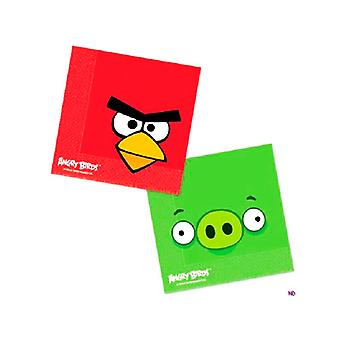 Serviettes Angry Birds