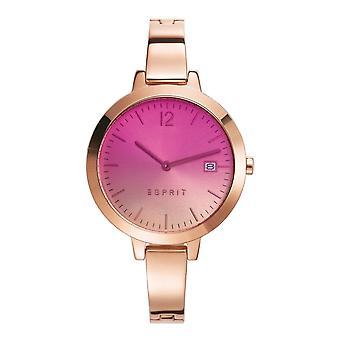 ESPRIT ladies watch bracelet watch Amelia stainless steel Rosé ES107242009