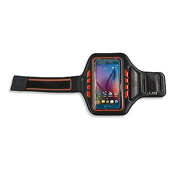 Universal 5.5 inch sport bracelet band with LED and key compartment JOGGER strap TOP