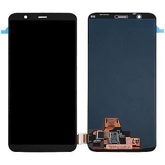 Display full LCD unit touch spare parts for ONEPlus 5T repair black new