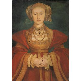 Anne of Cleves, Hans Holbein, 60 x 40 cm