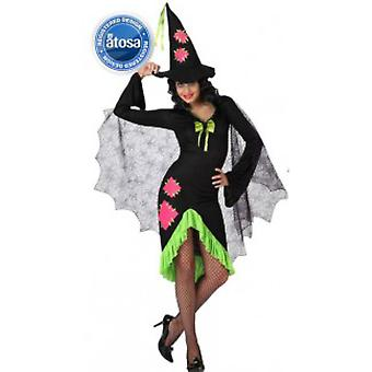 Women costumes  Witch costume with green details