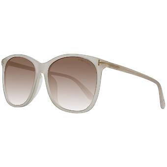 TOM FORD Sonnenbrille Damen Creme