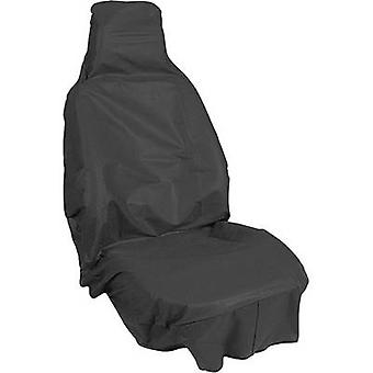 APA 31400 Dirt cover 1-piece Fleece Black Drivers seat