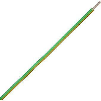 Kopp 155405842 Strand H07V-U 1 x 6 mm² Green-yellow 5 m