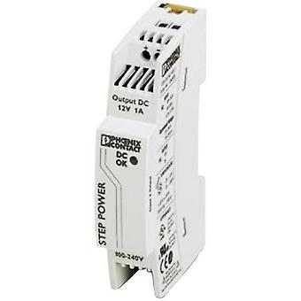 Rail mounted PSU (DIN) Phoenix Contact STEP-PS/48AC/24DC/0.5 24 Vdc 0.55 A 24 W 1 x