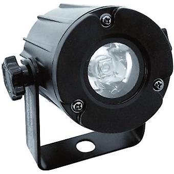 LED pin spot Eurolite LED PST-3 W 6000 K No. of LEDs: 1 x 3 W Black