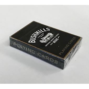 Bushmills whisky sett med 52 spillkort