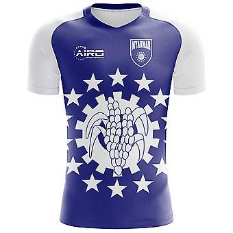 2018-2019 Myanmar Home Concept Football Shirt