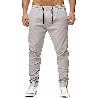 Tazzio fashion mens chinos grey