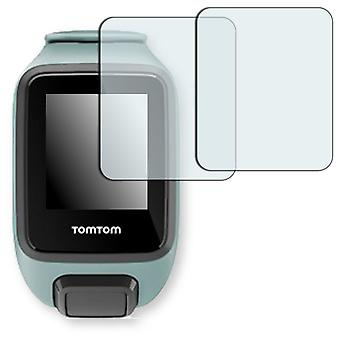 TomTom spark 3 screen protector - Golebo crystal clear protection film