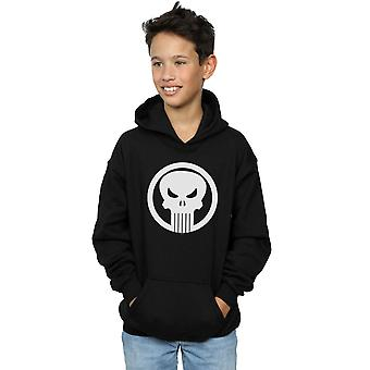 Marvel Boys Punisher Skull Circle Hoodie