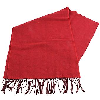 Bassin and Brown Webbe Chevron Scarf - Red