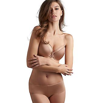 Marlies Dekkers 17151 Women's Space Odyssey glanset kamel farge polstret Underwired line Push Up BH